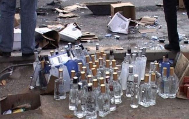 Фото: В Рязани жители унесли алкоголь с мусорки