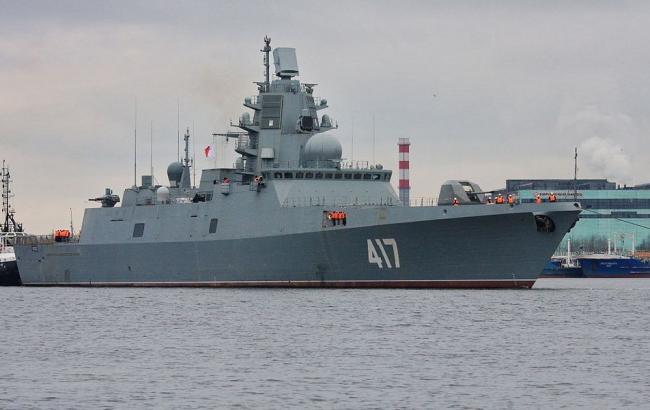 """Фото: фрегат """"Адмірал Горшков"""" ВМФ Росії"""