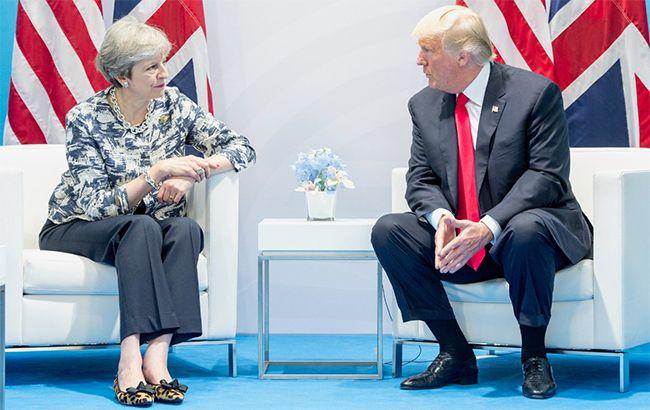 Мэй и Трамп договорились о торговой сделке после Brexit