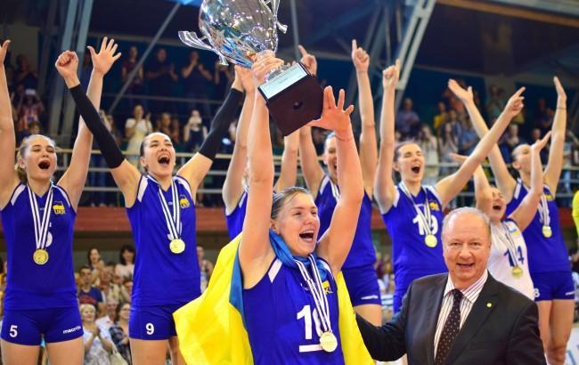 Фото: Женская сборная по волейболу (fvu.in.ua © Bogdan Dosiuk)