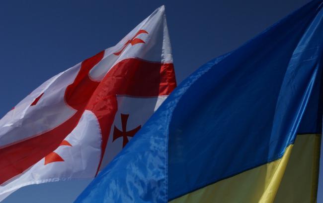Фото: Україна і Грузія закликали світову спільноту посилити підтримку