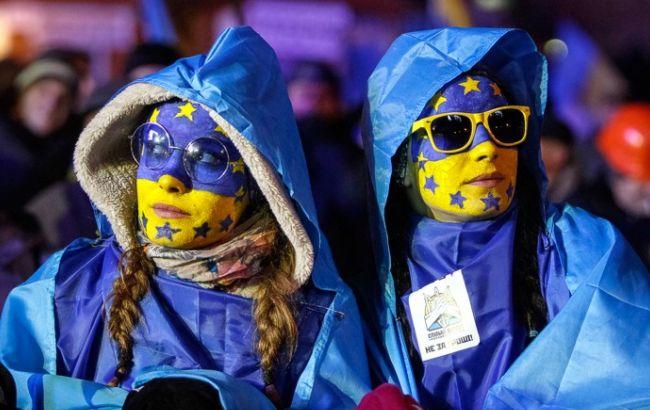 Фото: украинцы рассказали о своем отношении к отмене виз с ЕС