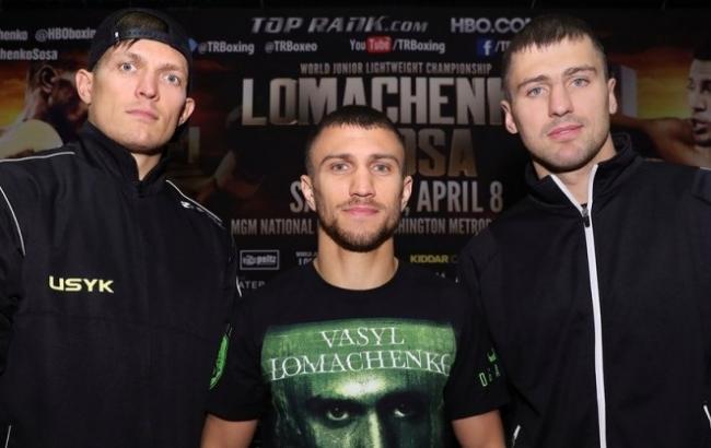 Фото: Ломаченко, Усик, Гвоздик