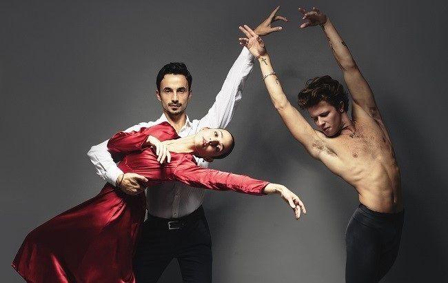 Грация и красота: Александр Стоянов снялся в эффектной фотосессии с американскими артистами
