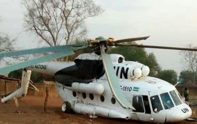 В ЦАР разбился вертолет миссии ООН, есть жертвы