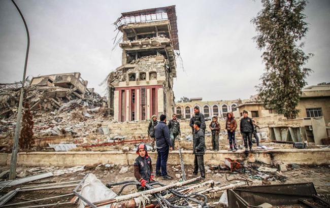 Фото: війна в Сирії (un.org)