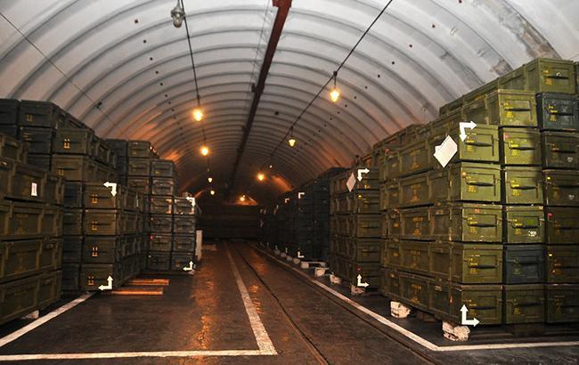 Фото: склад хранения боеприпасов (УНИАНА)