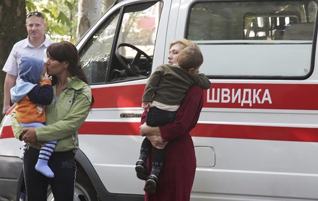 Фото: матери с детьми (Алексей Сувиров / УНИАН)
