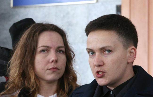 Сестра Надежды Савченко временно возглавит ее партию