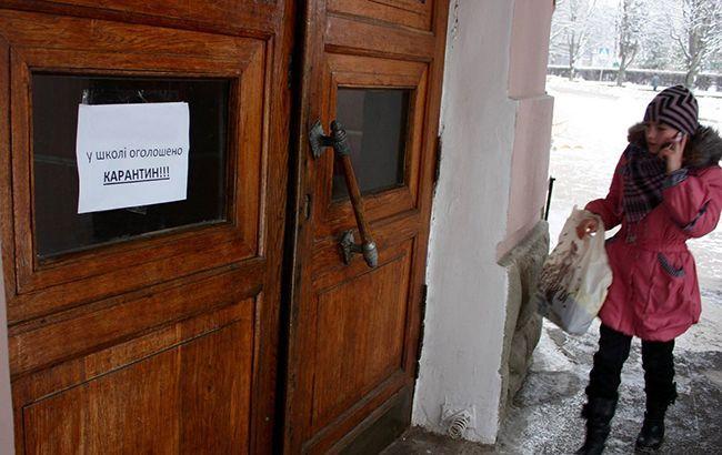 Школы Днепропетровской области массово закрыли на карантин