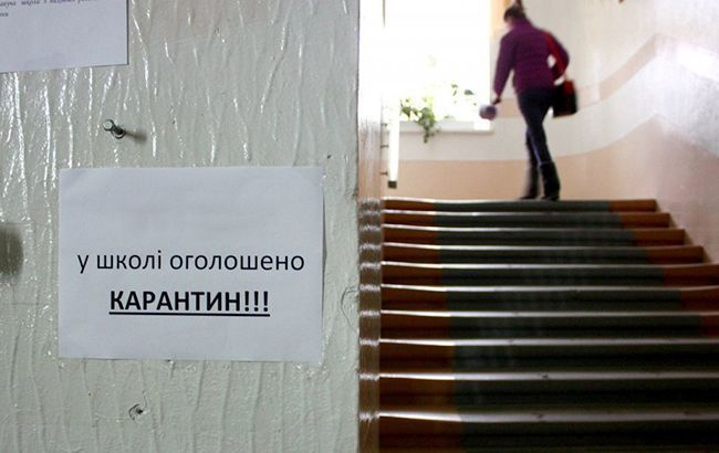 Школы Кропивницкого частично закрываются на карантин