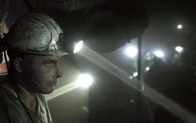 Фото: шахтар (УНІАН)