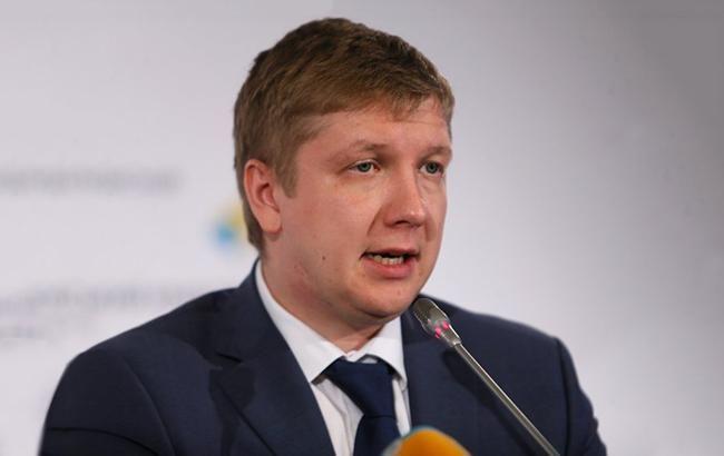 Коболєв очікує рекордні доходи від транспортування газу в 2017 році