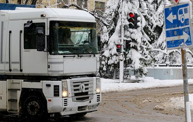 Фото: грузовик (УНИАН)