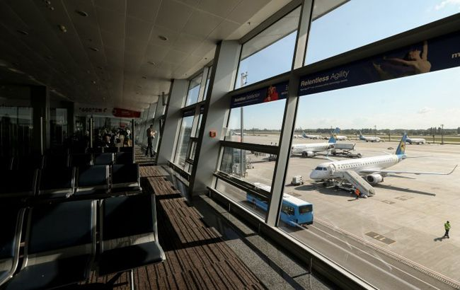 """Фото: аеропорт """"Бориспіль"""" (УНІАН)"""