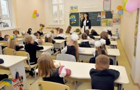 З 1 вересня 2018 року діти будуть навчатися за новим стандартом освіти (фото УНІАН)