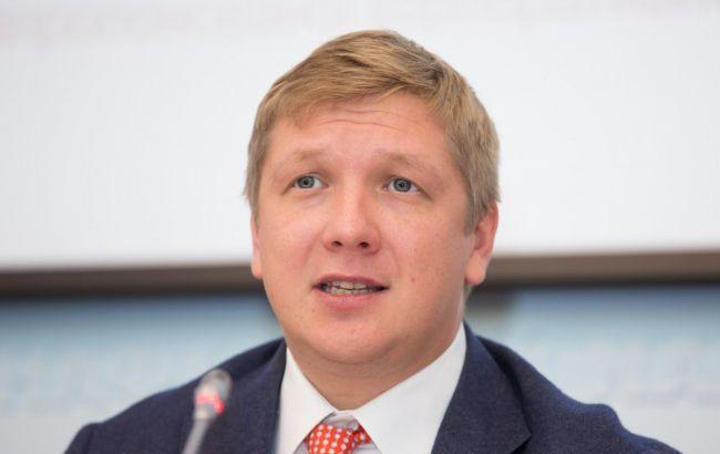 Коболєв назвав тарифи на довгостроковий транзит російського газу