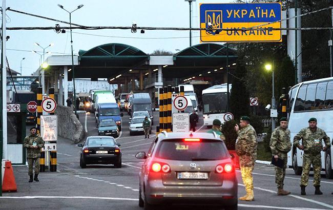 Фото: пункт пропуска Шегини (Андрей Крымский/УНИАН)