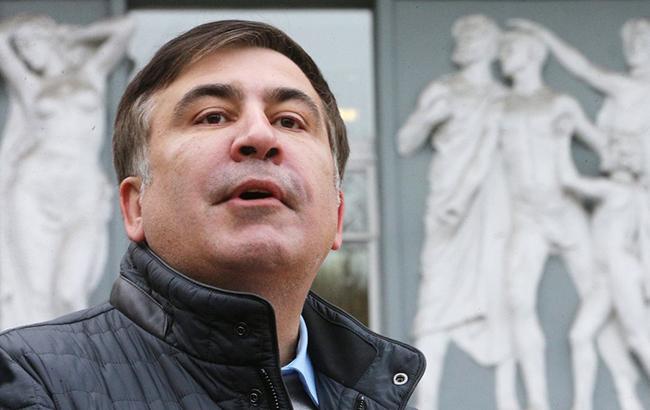 «Это провокация». Саакашвили оштурме Октябрьского замка