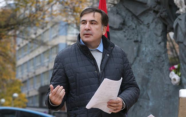 """""""Мой мобильный глушили"""": Саакашвили рассказал, зачем полез на крышу при задержании"""