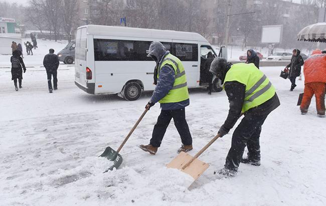 У Києві сьогодні вночі очікується снігопад