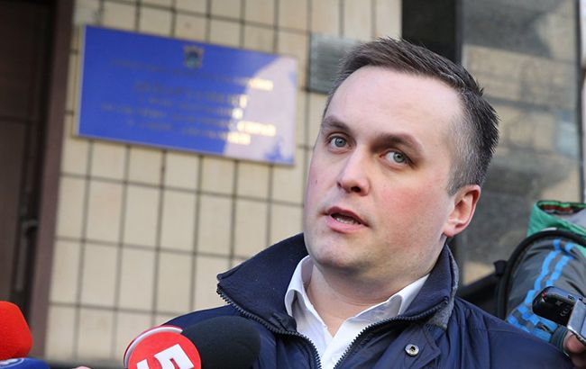 Прослуховування Холодницького: під будівлею САП сталася сутичка з поліцією і спецназом НАБУ (відео)
