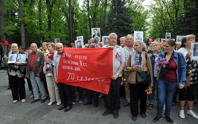 У Харкові учасники проросійської акції