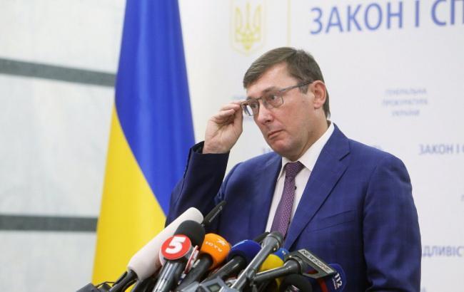 Луценко: регламентний комітет розгляне подання на нардепів 3 жовтня
