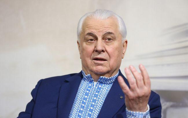 """Кравчук: """"план действий"""" должен открыть путь для восстановления мира на Донбассе"""