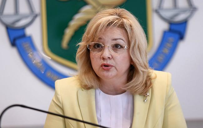 Фото: глава Госаудитслужбы Лідія Гаврилова (УНІАН)