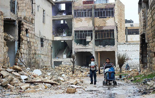 Фото: город в Сирии (unicef.org)