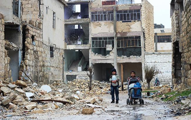 Фото: война в Сирии (unicef.org)