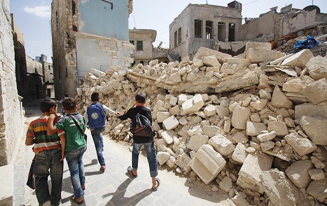 Фото: війна в Сирії (unicef.org)
