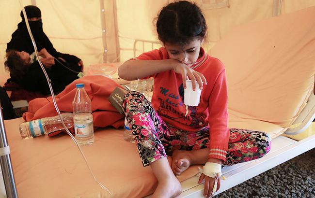 Кількість загиблих від епідемії холери в Ємені перевищила 850 осіб