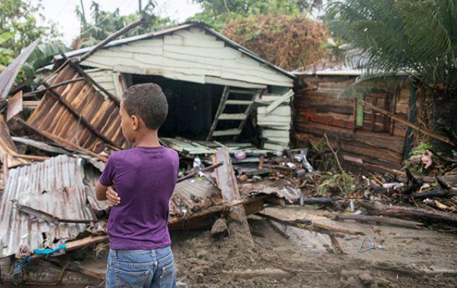 "Фото: ураган ""Ирма"" (unicef)"
