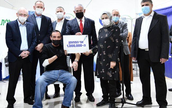 Израиль привил от коронавируса более миллиона граждан