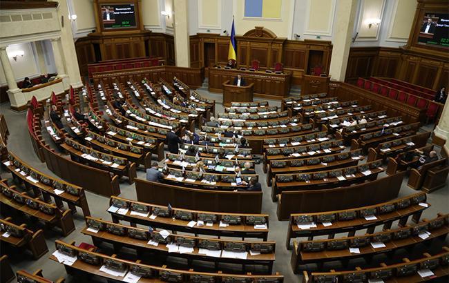 Фото: заседание Верховной Рады Украины (Twitter/@chesno_movement)