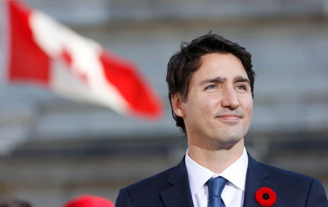 Фото: премьер-министр Канады Джастин Трюдо