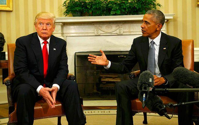 Трамп звинуватив Обаму у витоках інформації з Білого дому