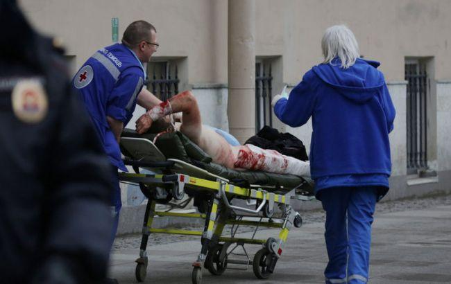 Фото: теракт в Петрбурге