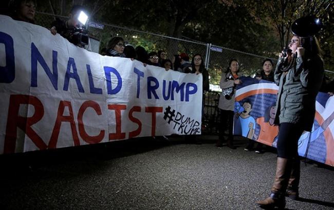 Фото: протести проти Трампа в США