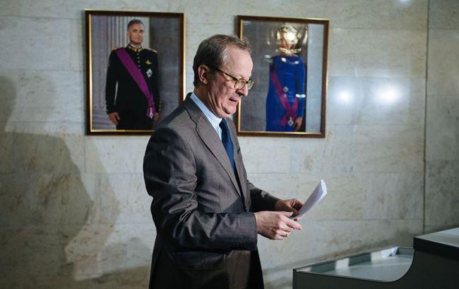 Фото: Посол Бельгии в России Алекс Ван Меувен