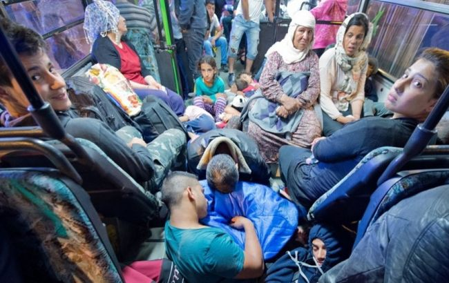 Фото: мігранти в Німеччині