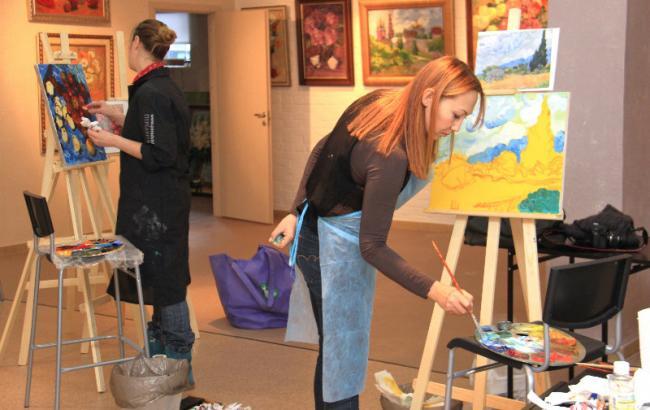 сколько учились рисовать художники