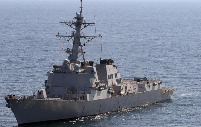 Фото: есмінець USS Mason