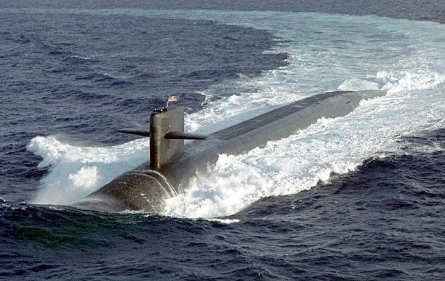 """Фото: підводний човен ВМС США """"Луїзіана"""""""