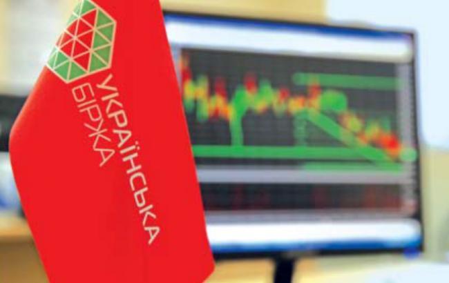 """""""Українська біржа"""" закрилася зниженням індексу UX на 0,35%"""