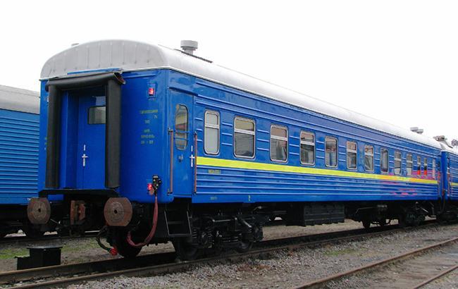 """Фото: пассажирский вагон """"Укрзализницы"""" (uz.gov.ua)"""