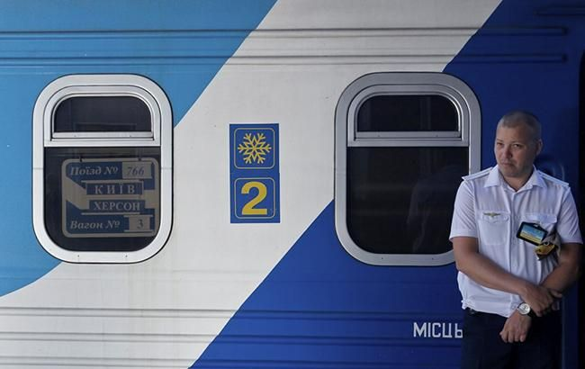 Фото: поезд (УНИАН)