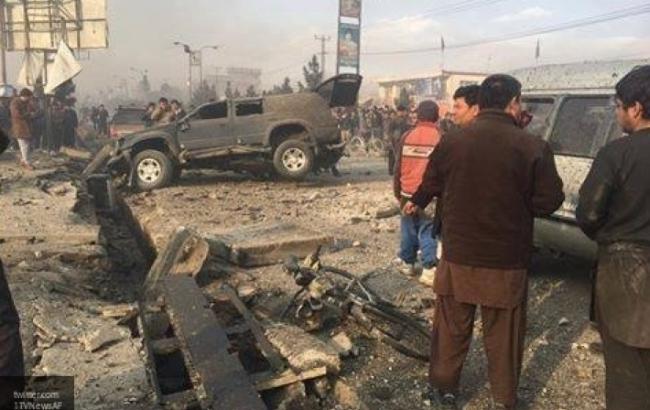 Фото: теракт в Афганистане